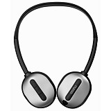 RAPOO Wireless Stereo Headset [H1030] - Silver - Headset Pc / Voip / Live Chat